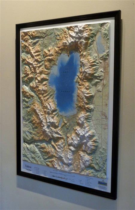Tahoe 3D Trail Map