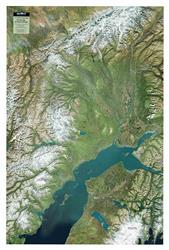 Anchorage & Alaska Range  – 3D Earth Image Map 0050