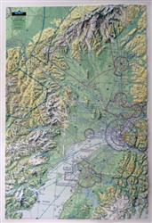 Anchorage & Alaska Range 3D AeroChart 0049