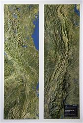 Appalachian Trail From Space – 3D Map 0009