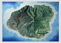 Kauai, Hawaii – 3D Map 0040