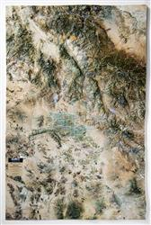 Phoenix - South Central Arizona – 3D Earth Image Map 0038