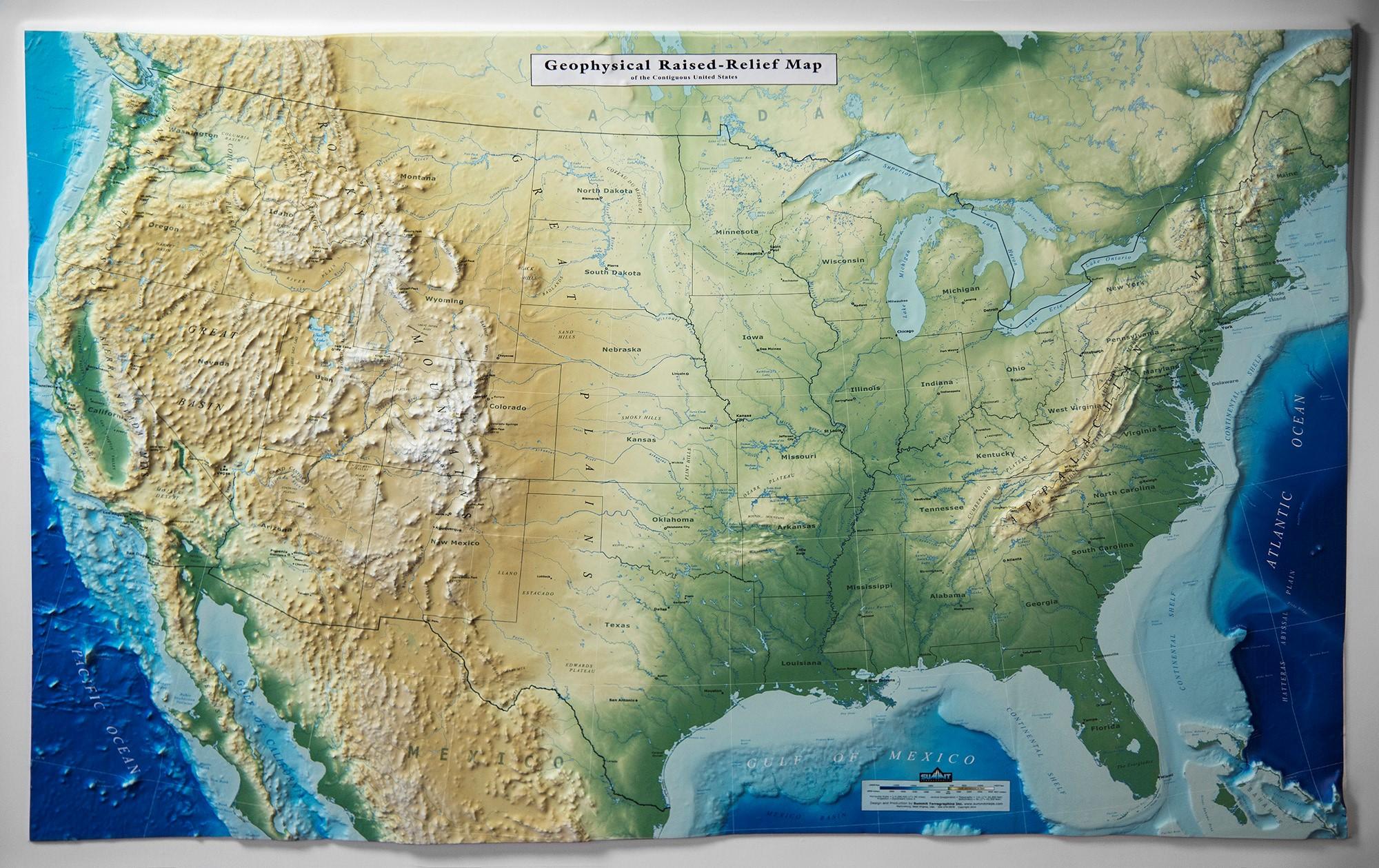 3D US Map - Geophysical - Summit Maps Image Of Continental Us Map on map of uk, map of state of montana, map of continents, map of arizona, map of colorado, map of canada, map of u.s.a, map of 48 contiguous states, map of california, map of europe, map of central america, map of island of ireland, map of puerto rico, map of u.s. territories, map of africa, map of state of rhode island, map of michigan, map of contiguous united states, map of australia,