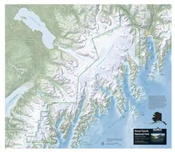 Kenai Fjords National Park – 3D Map 0019