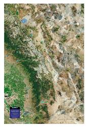 Southern Sierra – 3D Earth Image Map 0018