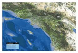 Southern California – 3D Earth Image Map 0005