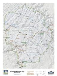 Yosemite National Park – 3D Trail Map 0025