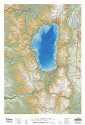 Tahoe 3D Trail Map 0042