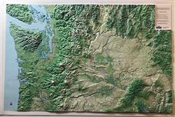Washington State 3D Map 0053