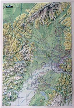 3D Anchorage Alaska 3D Aeronautical Chart